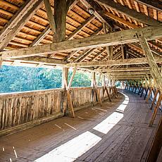 Дрвени мост до манастира Светог Георгенберга (Фото: ввв.силберрегион-карвендел.цом)