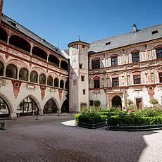 Унутрашње двориште замка Тратзберг (Фото: ввв.сцхлосс-тратзберг.ат)